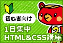 HTML&CSSセミナーも人気!